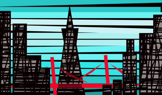 design - San Francisco Silhouette by Gary Lee