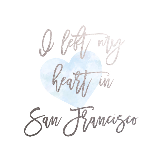 design - I left my heart in San Francisco by AS Designs