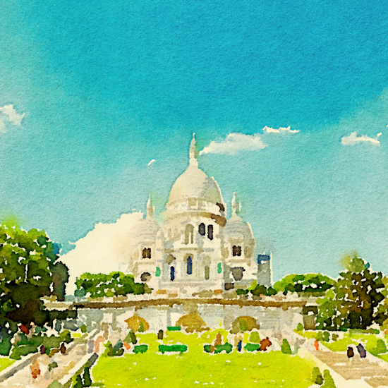 art prints - Basilica of the Sacred Heart by Kelly Chen