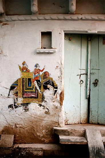 art prints - Door in Udaipur by LindseyErin