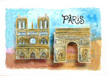 Dreaming of Paris by Christine Rae