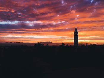 Berkeley Campanile Sunset