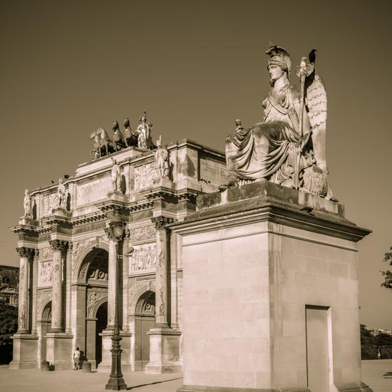 art prints - Arc de Triomphe du Carrousel by Kelly Chen