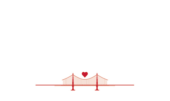 design - SF Love Bridge by Tracy Andersson