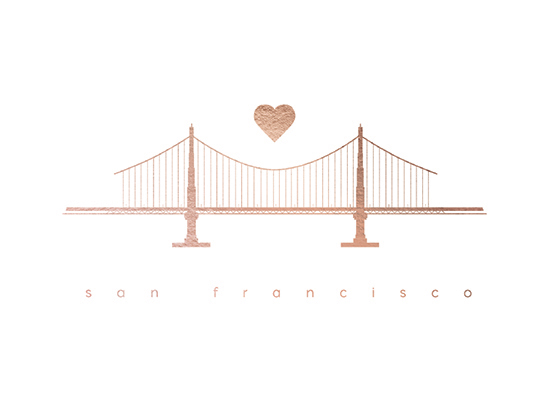 design - Heart of the Golden Gate by Tracy Andersson