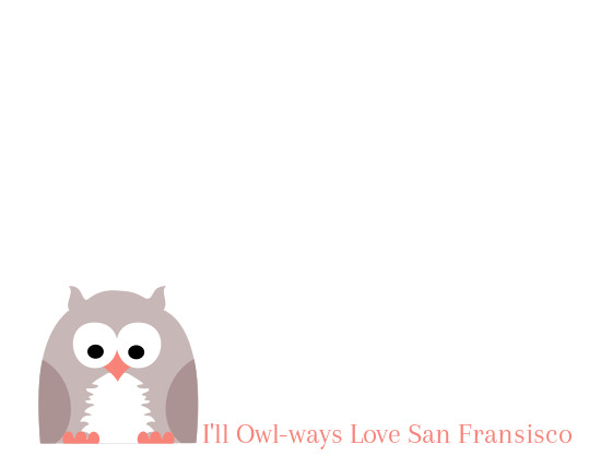 design - Owl Love by Patterned Pomegranate