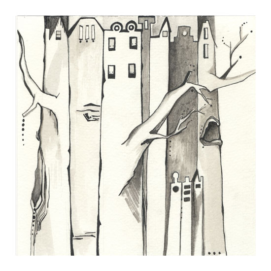 art prints - Neighborhoody Two by Amy Wicherski