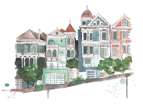 design - Houses on the Bay by Kelsey McNatt