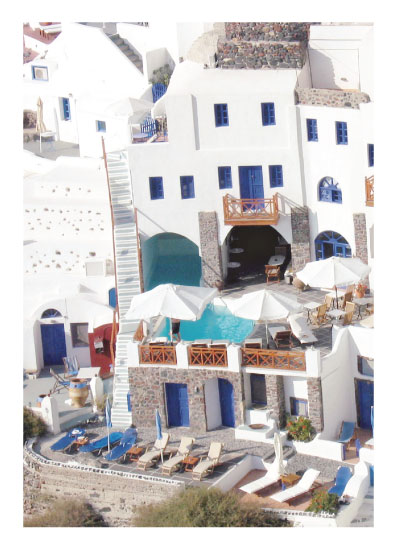 art prints - Oia, Oia, Ohh by lace and love notes