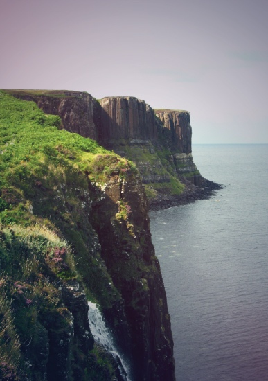 art prints - Scottish Cliffs by Katrina Lindhorst