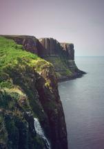 Scottish Cliffs by Katrina Lindhorst