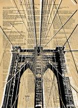 Brooklyn Bridge Poems by Best Couple Ever Designs