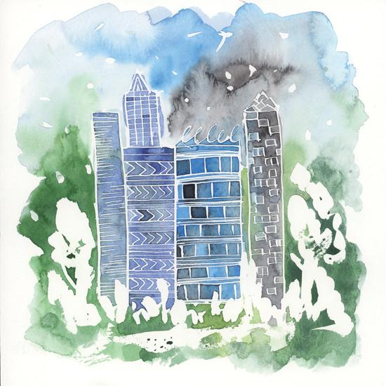 art prints - Once upon a time in a city.. by Taniya Varshney