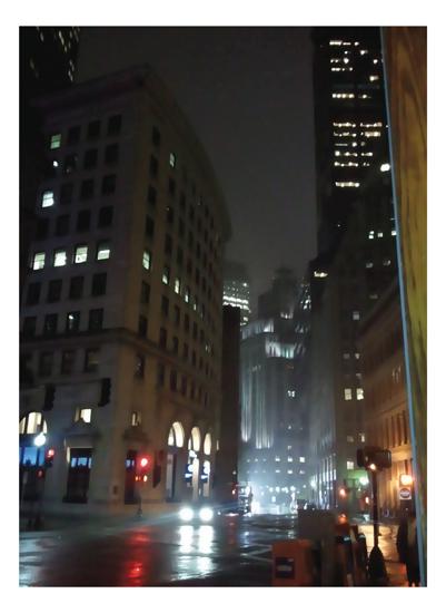 art prints - City Scene by jennifer evangelist