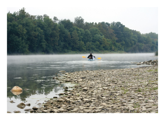 art prints - River Fishing by Debbie Fieno