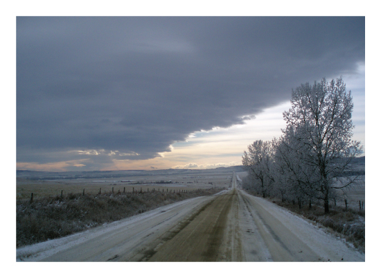 art prints - Chinook Arch Over Millarville by Wendy Dypolt