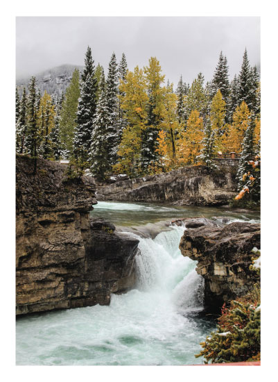 art prints - Elbow Falls by Wendy Dypolt
