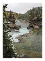 Elbow Falls From the To... by Wendy Dypolt