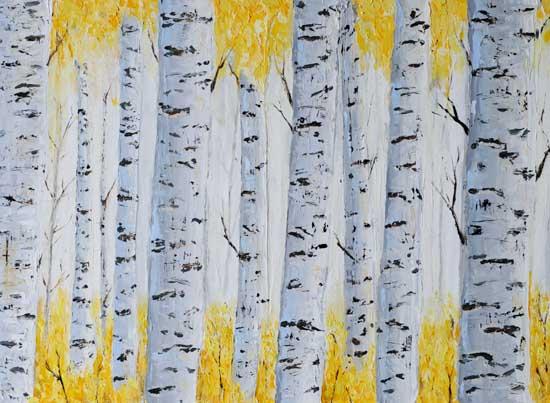 art prints - Aspen Grove by Laura Morris