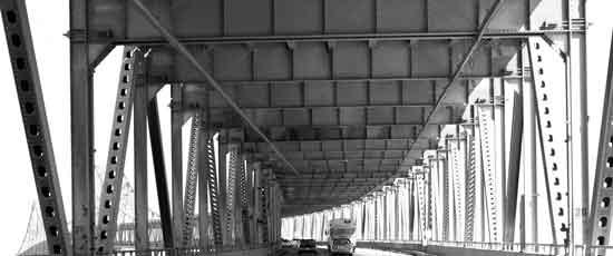 art prints - San Rafael Bridge California 2 of 2 by Dennis Landry