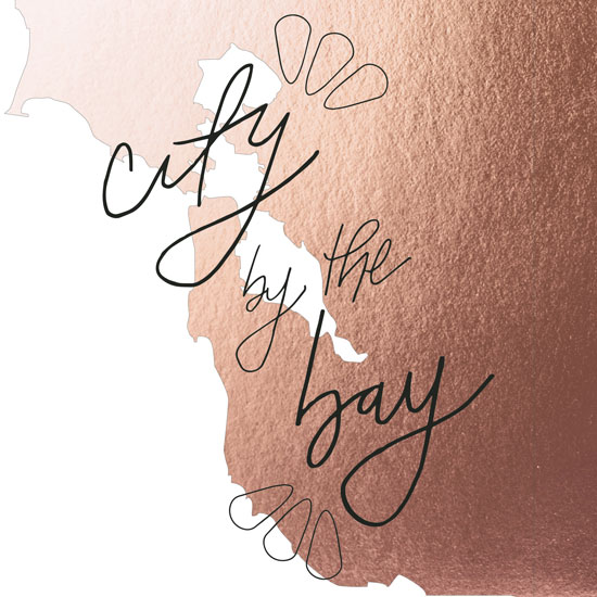 design - City by the Bay Print by Anna Beyerle