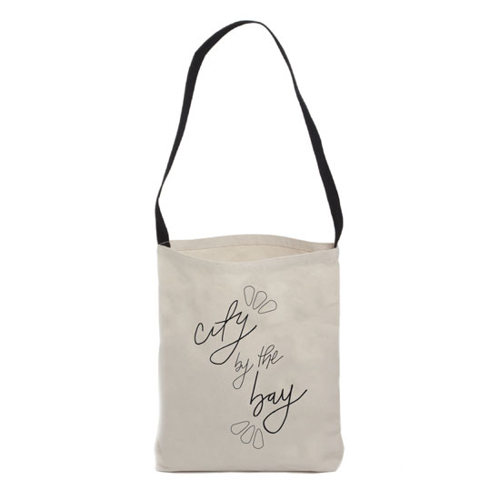 design - City by the Bay Tote Bag by Anna Beyerle