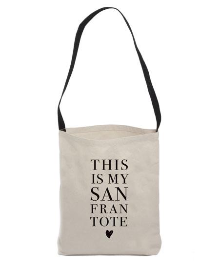 design - San Fran Tote by Rebekah Disch