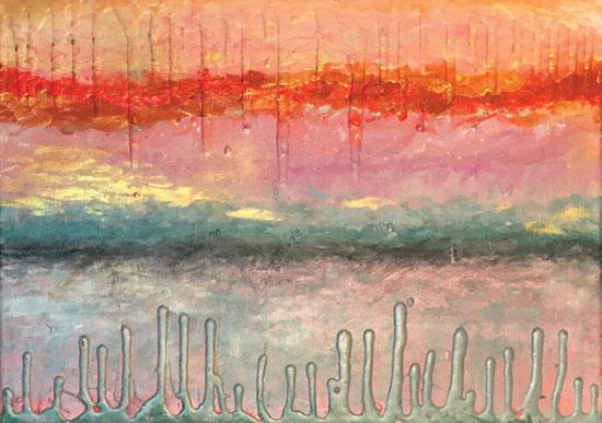 art prints - Fire Sunset by Maxine Orange