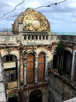 Old World Architecture in Havana, Cuba