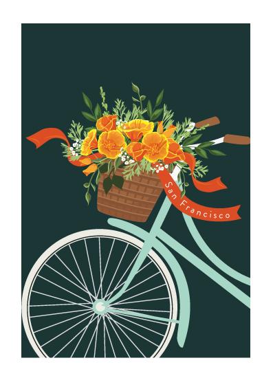 design - Tour around San Francisco by Susan Moyal