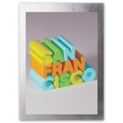 Disco Postcard