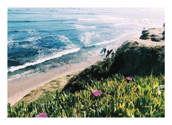 art prints - Saturday Surf by Madison McCormick