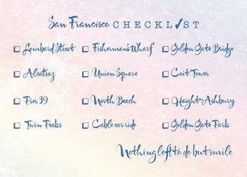 San Francisco Checklist