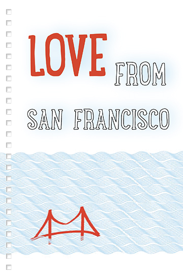 design - Love from GOLDEN GATE by Glowforger