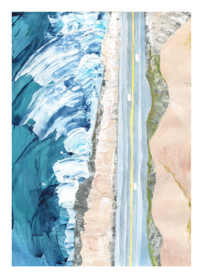 design - Pacific Coast Highway by Denise Wong