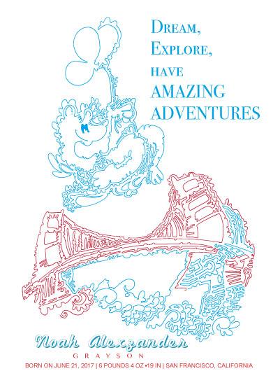 design - Beary Adventurous by Jason T Smith