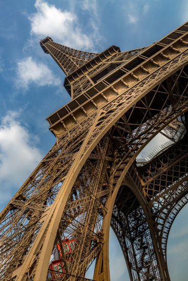 art prints - Eiffel Angle by Rick Walter