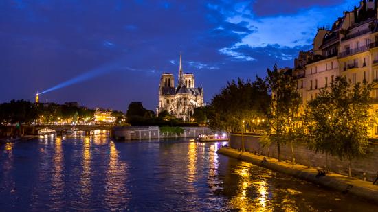 art prints - Parisian Nights by Rick Walter