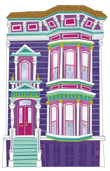 design - Painted Lady #2 by Jackie Crawford
