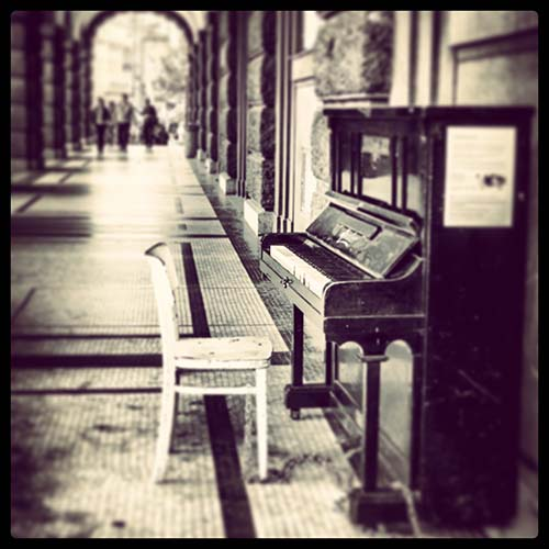 art prints - Lonely? Play me. by nicole dypolt