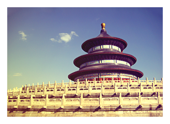 art prints - The Temple of Heaven – China by Isabel