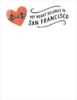 My Heart Belongs to San Francisco