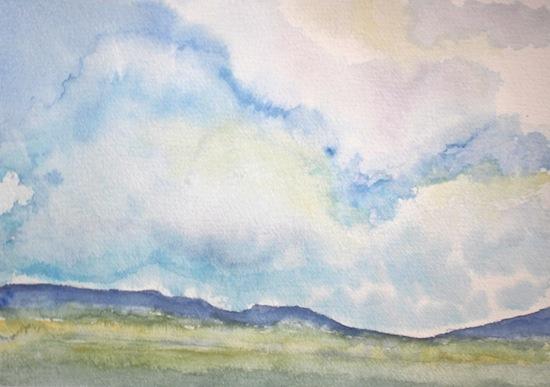 art prints - Big Clouds by Laura Alvarez