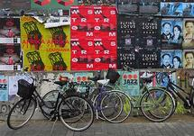 Bikes and Posters by Kasmira Mohanty