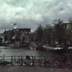 A Rainy Day in Amsterdam