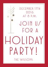 Red Holiday Party With... by Pippi Dust