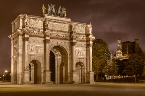 art prints - Parisian Arc by Rick Walter