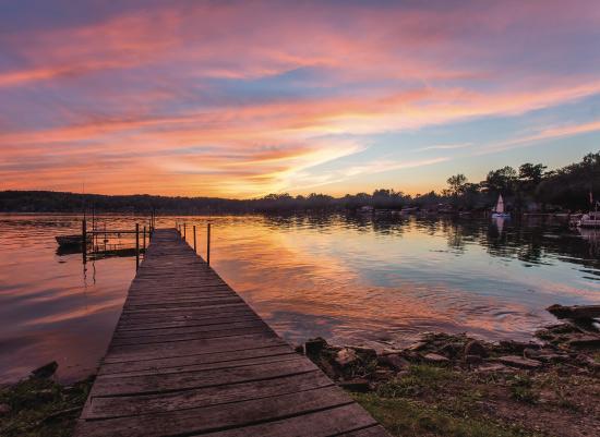 art prints - Lake Waneta Sunset by Lindsey Thompson