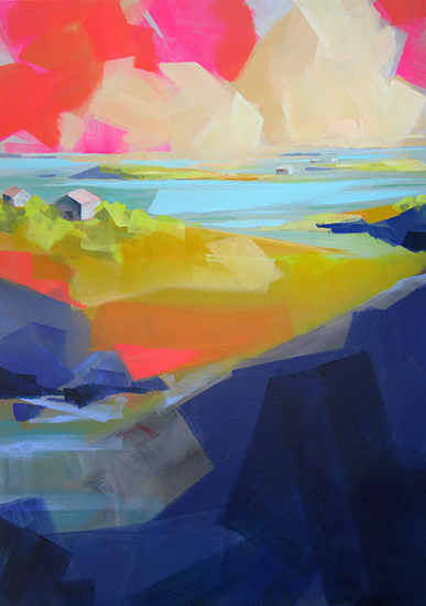 art prints - Gone Coastal by Jess Franks