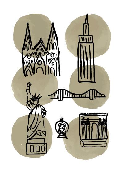 art prints - Nifty New York by Hannah Langford